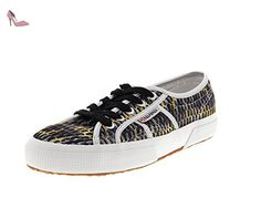SUPERGA - MESHMULTICOLW 2750 - grey dark yellow, Taille:41 EU - Chaussures superga (*Partner-Link)