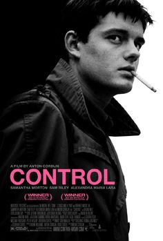 Control. The story of Ian Curtis and his time as lead singer of Joy Division. So sad!