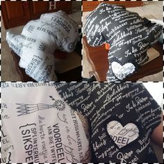 Black and white Africa pillow