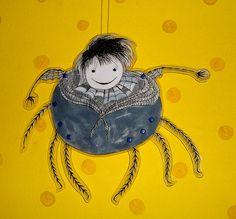 Ms. Spider puppet