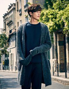 Hyungsik (ZE:A) - Elle Magazine October Issue '15