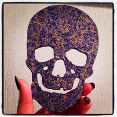 Decopatched Skull