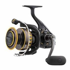 "BG Saltwater Spinning Reel - 6500, 5.3:1 Gear Ratio, 6+1 Bearings, 48.7"" Retrieve Rate, 33 lb Max DragManufacture ID: BG6500The next generation of the ever popular BG spinning reel series just got leaner and meaner. This complete series ranges from ultralight freshwater actions to heavy big game saltwater models.Features:- Black Anodized Machined Aluminum Housing (""Hard Bodyz"" Body & Side Cover)- Over-sized Digigear (Digigear System)- Solid Screw-In Handle- Air Rotor- Dynamic Cut Aluminum..."