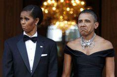 Obama's Face Swap - Giant Gag