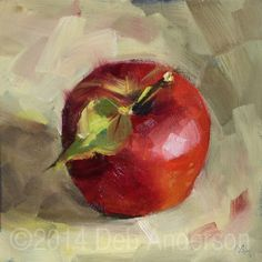 What is Your Painting Style? How do you find your own painting style? What is your painting style? Apple Painting, Fruit Painting, China Painting, Apples Photography, Still Life Artists, Popular Paintings, Apple Art, Still Life Fruit, Painting Still Life