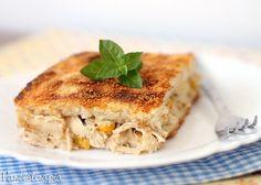 Torta Gratinada de Pão de Forma ~ PANELATERAPIA - Blog de Culinária, Gastronomia e Receitas