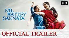 Nil Battey Sannata Official Trailer with Subtitle | Swara Bhaskar, Ratna Pathak | Watch the official trailer of 'Nil Battey Sannata', a family entertainer that is all about chasing your dreams and the relationship between a mother and daughter. Cast: Swara Bhaskar, Ratna Pathak, Pankaj Tripathi & Ria Directed By: Ashwiny Iyer Tiwari Produced By: Aanand L. Rai, Ajay G. Rai... | http://masalamoviez.com/nil-battey-sannata-official-trailer-subtitle-swara-bhaskar-ratna-pat
