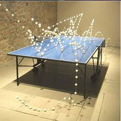 One of the best art about ping pong I've seen!  #tabletennis #pingpong #art
