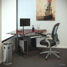 USA Manufacturer of standing desks, Education, Office furniture , medical carts and more! Cable Channels, Cubicle, Drafting Desk, Corner Desk, Tables, Furniture, Design, Home Decor, Corner Table
