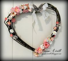 Gunn-Eirill`s Paper Magic: Wreath of willow/ DT Wild Orchid Crafts
