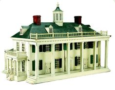 106.1: Mount Vernon Dollhouse | dollhouse | Dollhouses | Toys | National Museum of Play Online Collections | The Strong
