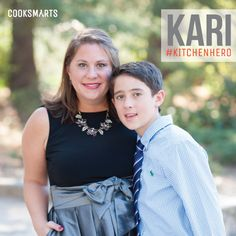 """Kari: """"I cook because I enjoy food and the community it creates, it shows you love someone, and it makes me feel creative!"""" 
