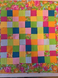 God's Goodness & Grace: My 1st Blog Post & Quilt