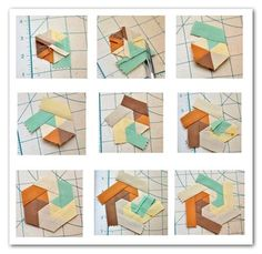 Quilt Block Tutorial: Swirling Hexagon