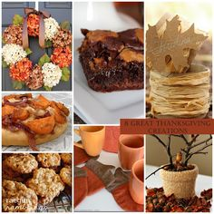 Thanksgiving Crafts, DIY, and recipes