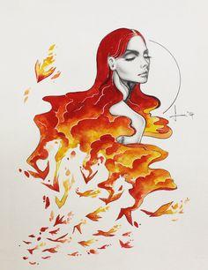 Freedom: Phoenix by kelogsloops.deviantart.com on @DeviantArt
