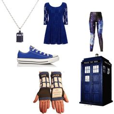 T.A.R.D.I.S. by mey-rin on Polyvore