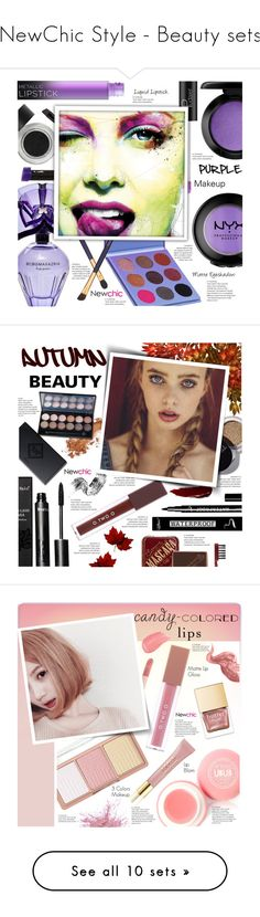 #NewChic Style - Beauty sets by mymilla on #Polyvore featuring #beauty, ULTA, BCBGMAXAZRIA, Estée Lauder, MAC Cosmetics, Bobbi Brown Cosmetics, Bésame, MAKE UP FOR EVER, Puma and AERIN