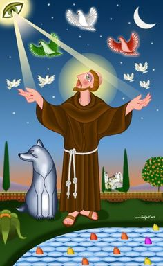 Laudato si', mi' Signore, per sor'aqua, la quale è multo utile et humile et pretiosa et casta....- Cantico delle creature - San Francesco d' Assisi