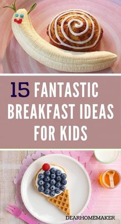 Best Breakfast Recipes, Quick And Easy Breakfast, Breakfast For Kids, Eat Breakfast, Awesome Food, Good Food, Yummy Food, Strawberry Breakfast, Recipe For Teens