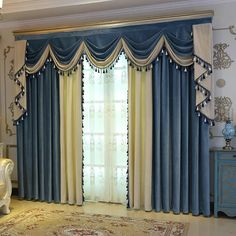 Home Curtains, Curtains Living Room, Cool Curtains, Living Room Decor Curtains, Blackout Curtains, Luxury Curtains, Curtains, Interior Design, Window Curtain Designs