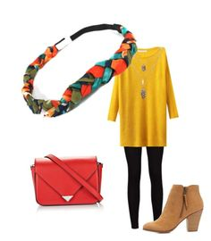 """""""Colors of Fall"""" by dsparveri on Polyvore featuring Charlotte Russe and Alexander Wang"""
