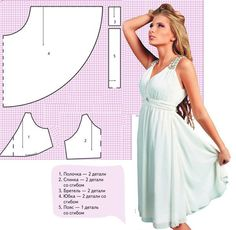 The best DIY projects & DIY ideas and tutorials: sewing, paper craft, DIY. DIY Women's Clothing : Risultati immagini per moldesedicasmoda -Read Diy Clothing, Sewing Clothes, Clothing Patterns, Dress Patterns, Sewing Patterns, Pattern Dress, Diy Sewing Projects, Sewing Hacks, Sewing Tutorials