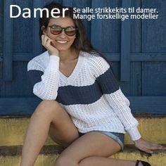 Gratis strikkeopskrifter - Stor samling af opskrifter til strik - Filato.dk Pullover, Model, Sweaters, Fashion, Tunics, Moda, La Mode, Sweater