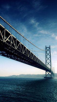 Pearl Bridge - Akashi Kaikyo Bridge, Awaji, Hyogo, Japan