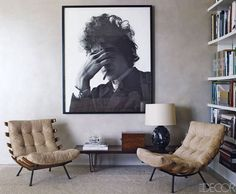 Cant have too many bob dylan pics in the house