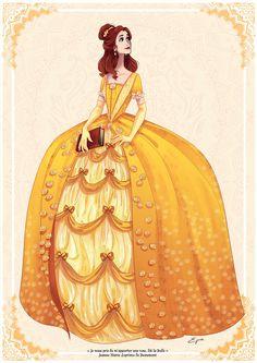 Belle by AzureOcean on deviantART