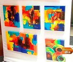 El arte y ganas de ayudar a los niños se unen en una exposición de pinturas