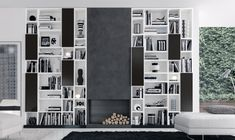 Ambiente3 | Idea librería, salita