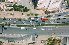 Stock Photo : street view, traffic human transportation vehicle