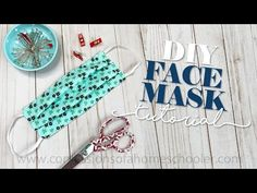 Homemade Face Mask Instructions   Community Health Network Diy Mask, Diy Face Mask, Chrome Nail Polish, Breathing Mask, Hair Scissors, Homemade Face Masks, Quilt Patterns, Sewing Projects, Sewing Ideas