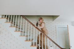 mom champagne going upstairs, mom on wedding day, mom cutting loose, mom on vineyard with champagne