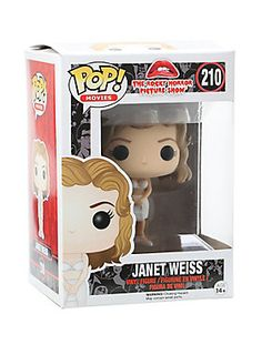 Janet Weiss is given a fun, and funky, stylized look as an adorable collectible vinyl figure!