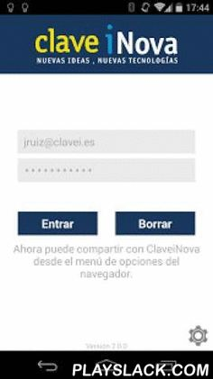 ClaveiNova  Android App - playslack.com , New Ideas, New OpportunitiesClaveiNova is a collaborative innovation system for generate and share ideas and important information for the Company and for the own employees. In addition, this tool encourage the team participation.  All team participates in the company innovation, with ClaveiNova you can:- Generate profitable ideas- Explore new business opportunities- Help the development of your team- Share the collective knowledge- Increase the…