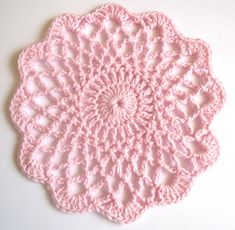 Ravelry: Shaded Pinks Doily pattern by Maggie Weldon