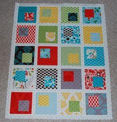 Building Blocks Baby Quilt