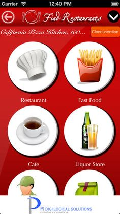 Find Restaurants - FREE iOS App Find Restaurants searches and navigates near by hotels , bars , fast food around your location.  #ios #apps
