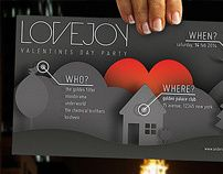 """Check out this @Behance project: """"Lovejoy - Music & Event Flyer"""" https://www.behance.net/gallery/4808837/Lovejoy-Music-Event-Flyer"""