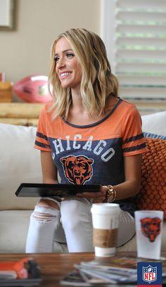 Loving this Bears tee on style icon Kristin Cavarelli! #NFLFanStyle #contest