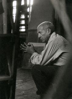 Picasso in his Studio  Rue des Grands-Augustins, Paris, 1948