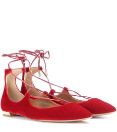 mytheresa.com - Ballerine Christy in velluto - Luxury Fashion for Women / Designer clothing, shoes, bags