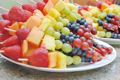 Rainbow idea for food! Maybe a healthy option for one of our events?