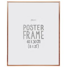 Aluminium copper poster frame - Frames - Home & Kitchen - Gifts & Home Wedding Order, Beautiful Houses Interior, Paperchase, Eye For Detail, Kitchen Gifts, Home Gifts, Poster Prints, Copper, How Are You Feeling