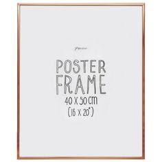 Aluminium copper poster frame 16x20