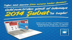 Gold.com.tr CardFinans Erteleme Kampanyası