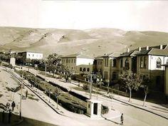 Malatya - Eski Fotoğraflar Atatürk Bulvarı Gazi İlköğretim Okulu Civarı - 1950